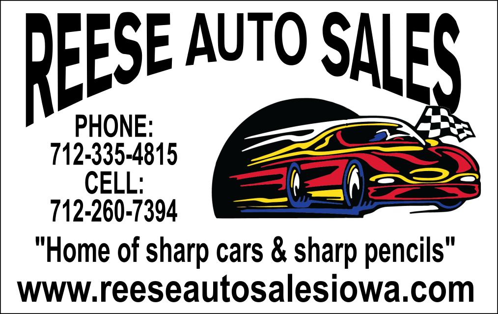 Reese Auto Sale