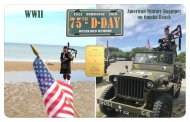 Affiliate Branding Card - WW11 D-Day 75th Anniversary